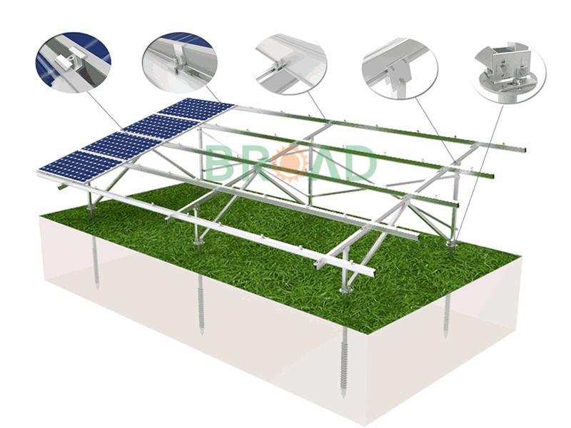Adjustable solar mounting systems