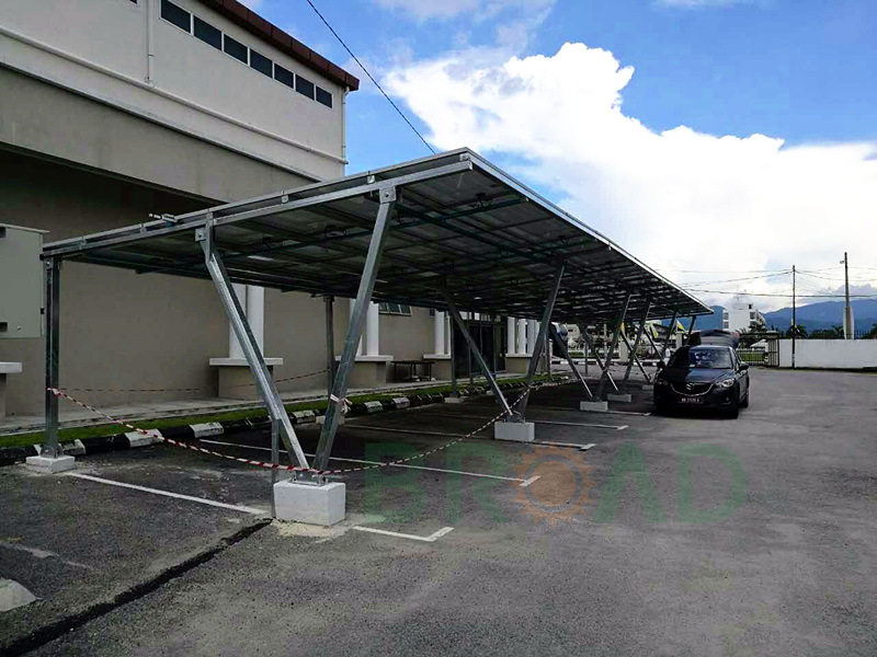 Carbon Steel carport mounting systems