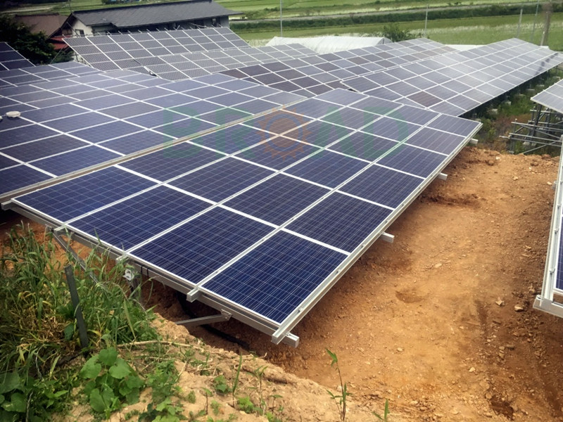 ground solar pv mounting