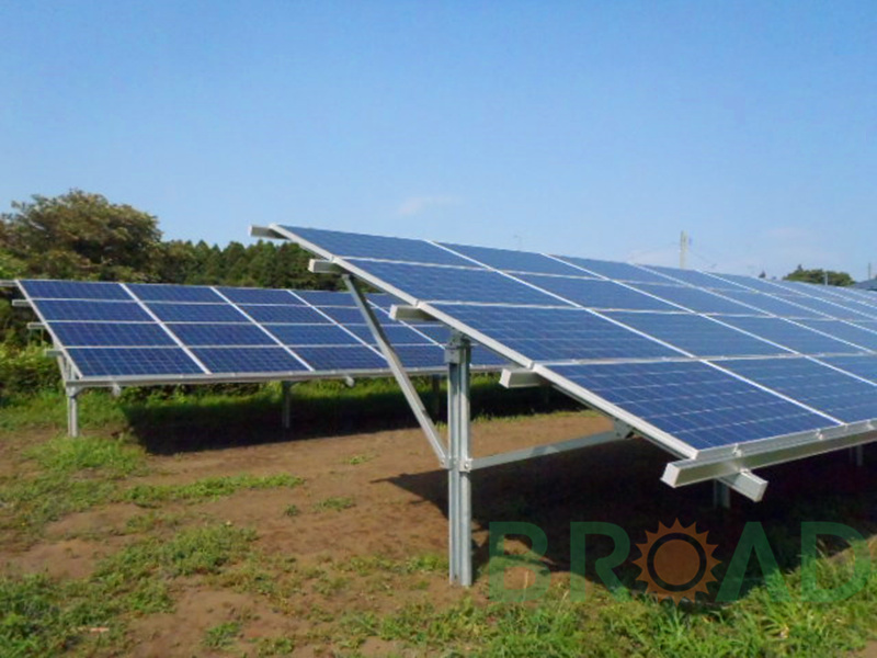adjustable tilt ground mount solar