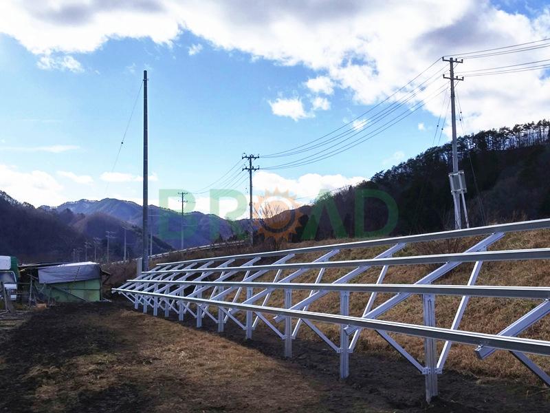 ground level solar panels