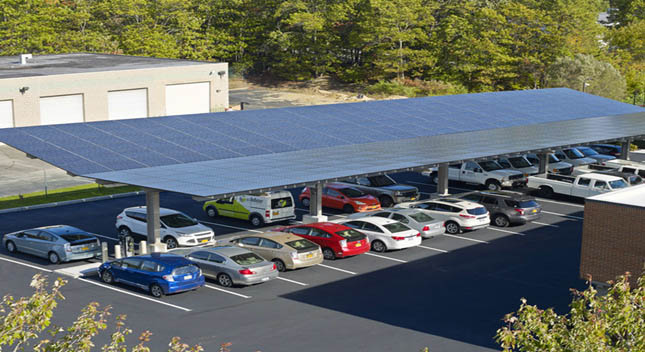 Introduction of photovoltaic carport system