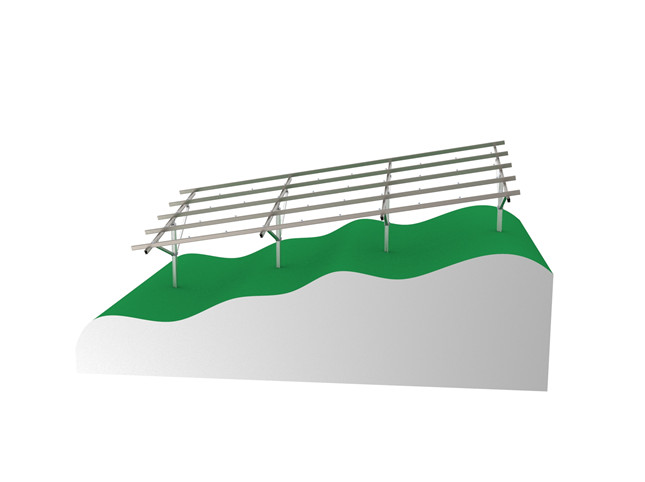 Introduction of fixed solar mounting structure