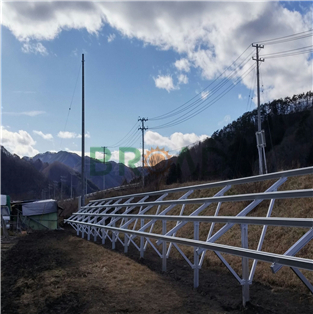 Ground Mounting System W-shape 60KW in Japan