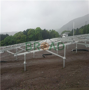 Ground Mounting System for 640KW