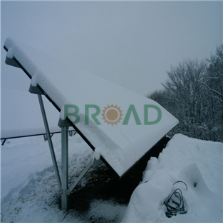 Ground Mounting System W-shape for 60KW