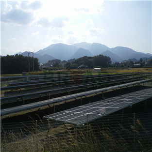 Ground Mounting System-100KW in Kohachi Japan