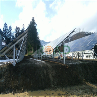 Ground Mounting System-65KW  in Fukushima Japan