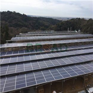 Farm Solar Mounting System for 4.35MW