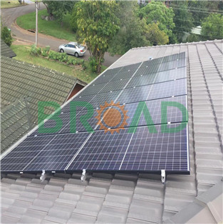 Tile Roof Mounting System- 70KW in Indonesia