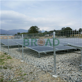 Ground Mounting System for 100KW GS1 in Japan